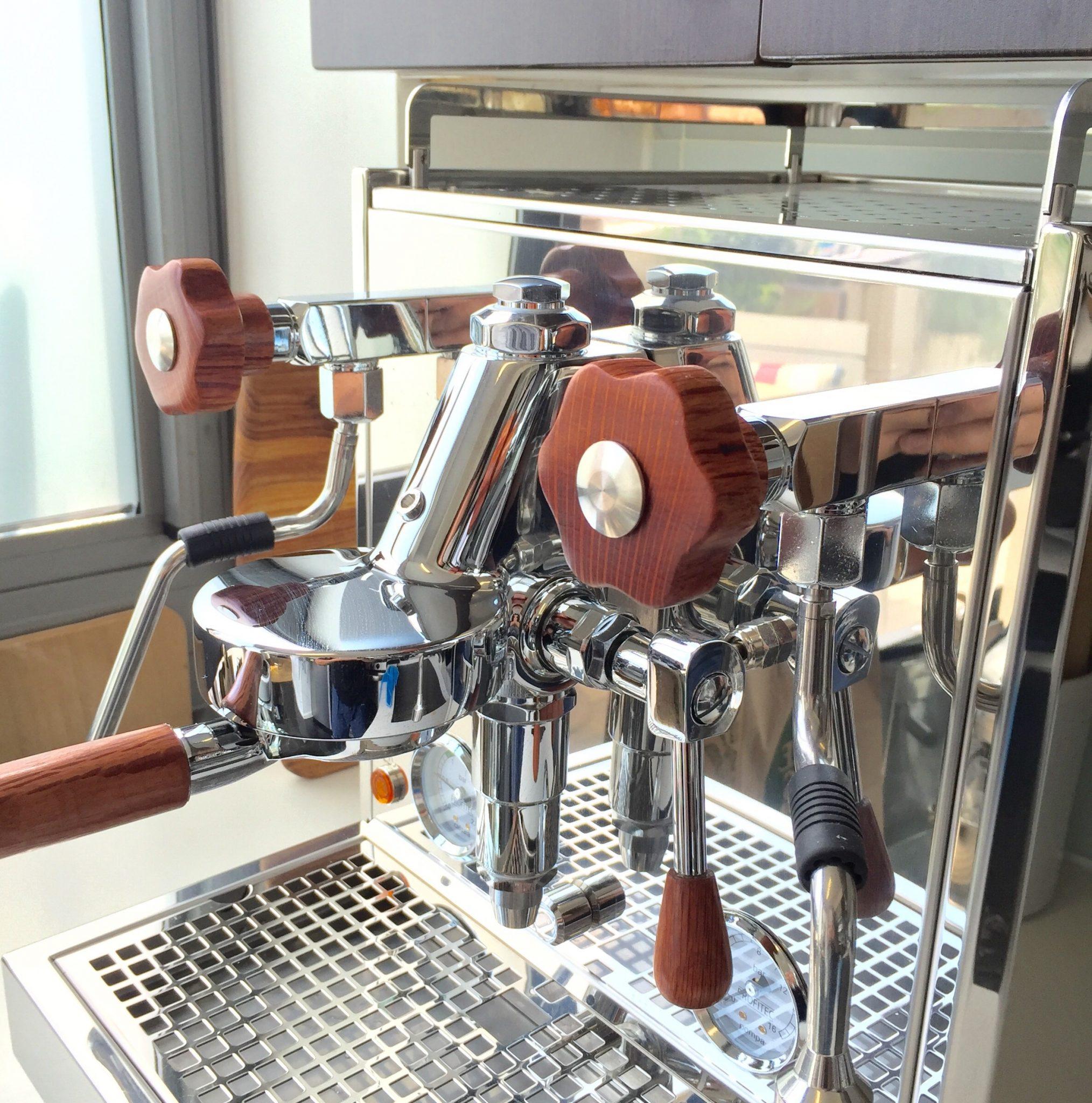 Profitec Pro 500 Wooden Parts Coffee Parts Handmade In