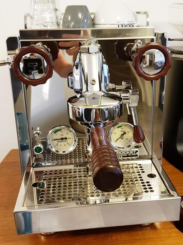Rocket R60v Hardwood Coffee Parts Set Custom Made From